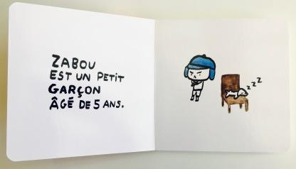 """""""Le Cri de Zabou"""" de Pauline de Tarragon"""